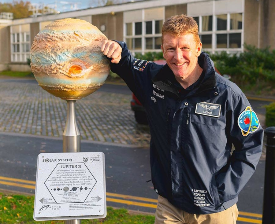 Tim Peake at York University